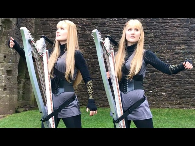 LEGEND OF THE SHADERS (Original Song) – Camille and Kennerly, Harp Twins