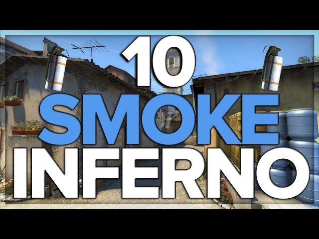 10 SMOKE na INFERNO które musisz znać w CS:GO!
