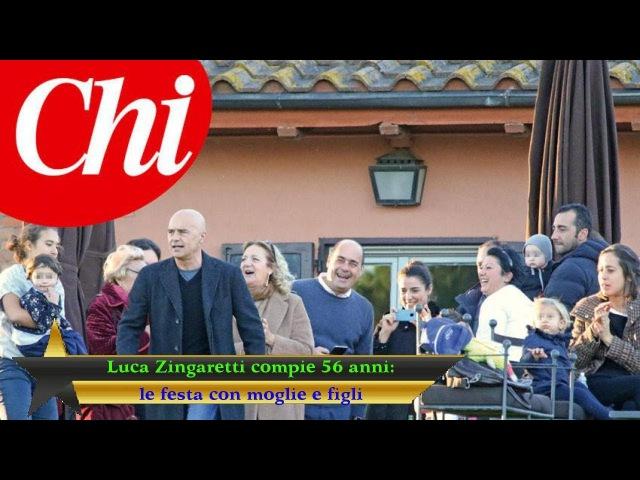 Luca Zingaretti compie 56 anni: le festa con moglie e figli