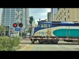 Driving Downtown - San Diego California USA 4K