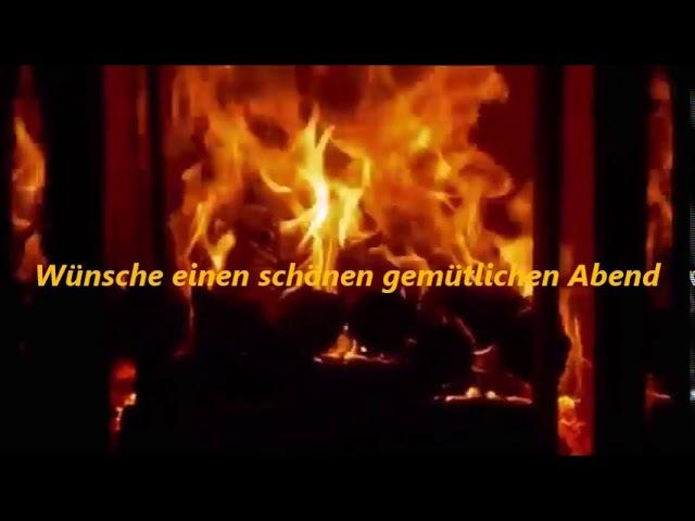 Wünsche einen schönen gemütlichen Abend / Wish a nice cozy evening