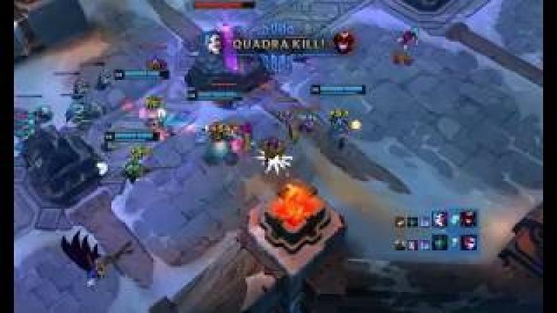 Jinx Quadra Kill ARAM