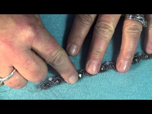 (Tutorial) Diamond Sparkle Bracelet ( Video 120)
