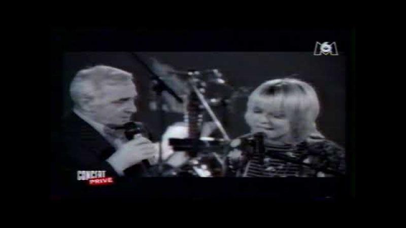 France Gall Charles Aznavour La Mama Concert Privé , TV Cité, Le Samedi 22 Mars 1997