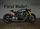 Yamaha Virago XV920 Café Racer Build - Vlog 23 - Some Paint, Updates First Ride!