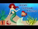 Игры для Андроид Обзор Игры - Принцесса Русалка из Океана Веселые Детские Видео Развивающие Игры для Детей