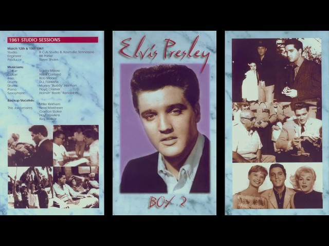 ELVIS PRESLEY - UNSURPASSED MASTERS BOX 2 VOL 6
