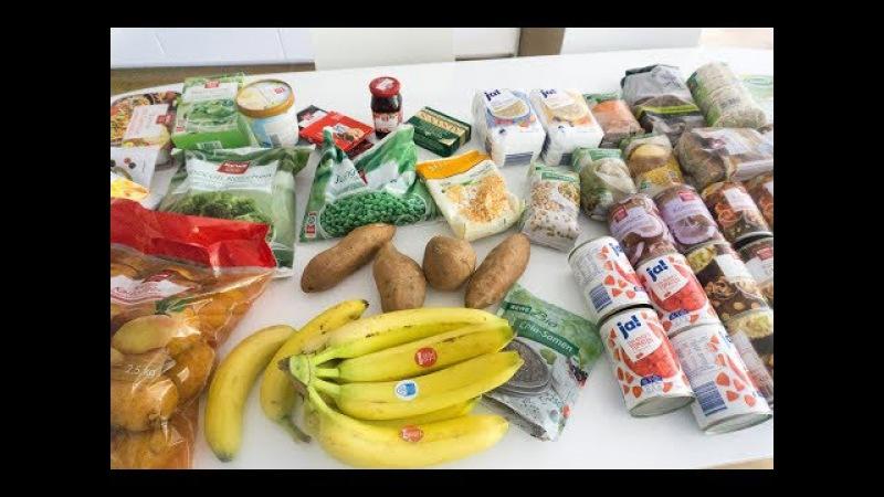 Закупка еды в супермаркете (на пару недель, семья из 4х, скоро 5и) / ВЕГАН