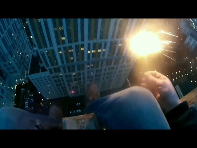 Руфинг | ЖК Богородский | Новый год по-руферски | фейерверк на крыше