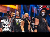 Bullet Club Entrance on RAW feat. AJ Styles, Karl Anderson, Kenny Omega, Gallows &amp more - WWE 2K17