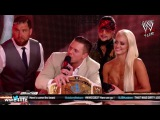 The Miz cuts an AMAZING PROMO on RAW Talk (Miz Tourage after Great Balls Of Fire)