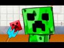МАЙНКРАФТ КРИПЕР - ГОТОВКА ЧЕЛЛЕНДЖ 20 мультяшная игра для детей minecraft kriper ПУРУМЧАТА