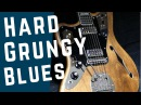 Heavy Blues Grunge Guitar Backing Track Jam in E