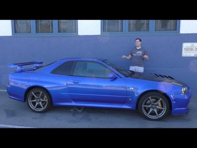 Обзор легального в США R34 Nissan Skyline GT R