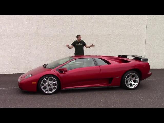 Самая бешеная машина из 90х Lamborghini Diablo ОБЗОР (Doug DeMuro на русском)