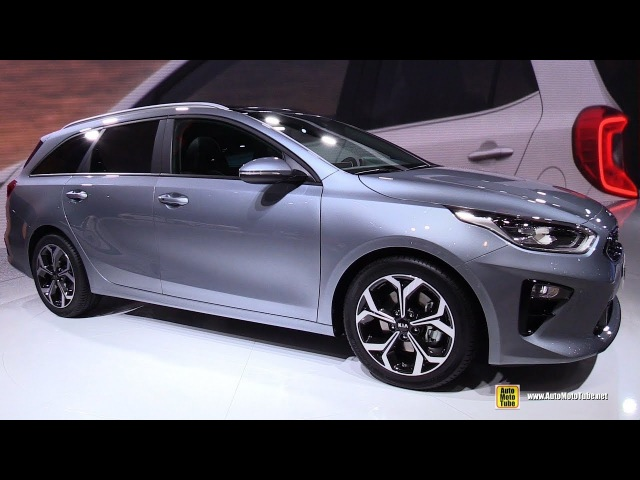 2019 KIA Ceed SW - Exterior and Interior Walkaround - Debut at 2018 Geneva Motor Show