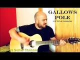 Gallows Pole - Led Zeppelin version - Guitar Lesson - Breedlove Atlas 12 string guitar