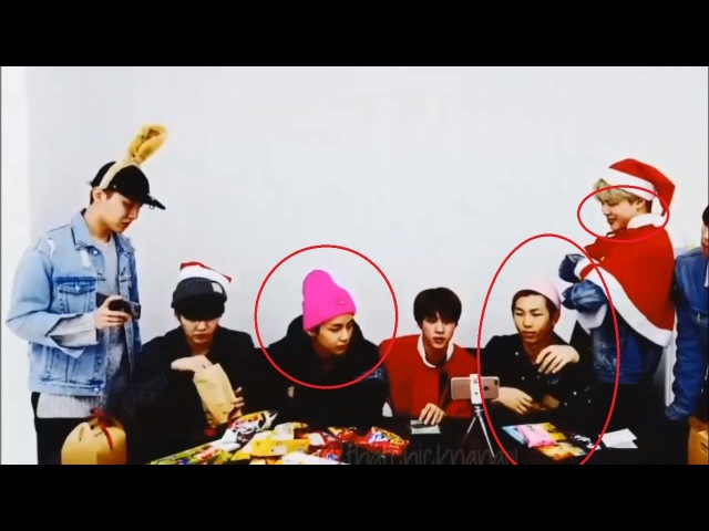 [BTS FUNNY] King Of Theif (Rapmon, Jungkook, Jimin, V, Jin) on Christmas Day! [engviet][sub]