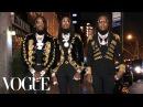 Migos Get Ready for the Grammys Vogue