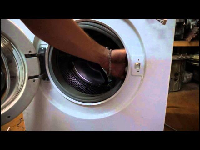 Как снять УБЛ замок стиральной машины Бош Видео №21