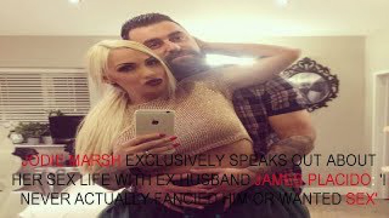 JODIE Marsh declared her split from ex James Placido a year ago