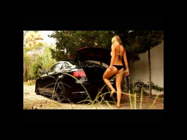 Audi S5 Bagged on 19 Vossen Wheels / Rims
