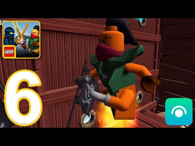 LEGO Ninjago: Skybound - Gameplay Walkthrough Part 6 - Final Level 12 Boss (iOS, Android)