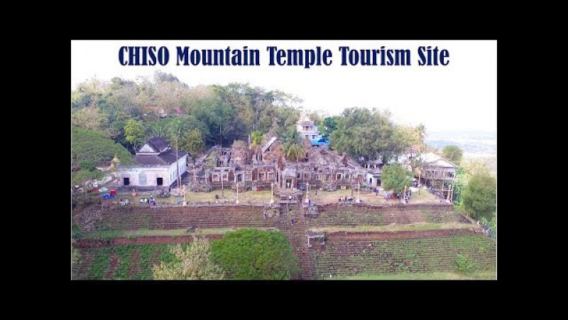 Travel from Phnom Pent to Takeo Province - Walk Up 412 Steps to Chisor Mountain Temple