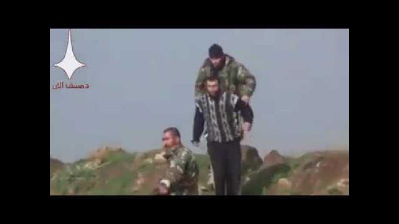 Кадры засады бойцы русской ЧВК захватили главаря боевиков в Сирии