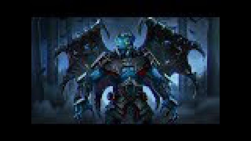 Dota 2 - 7.07 - Night Stalker Guide - Испытание всех героев
