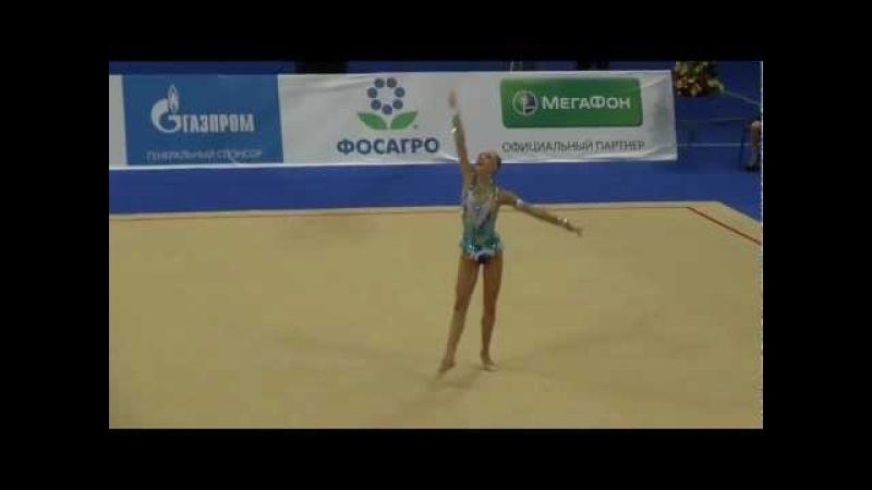 Дарья Сватковская (обруч). Svatkovskaya Daria Russia .