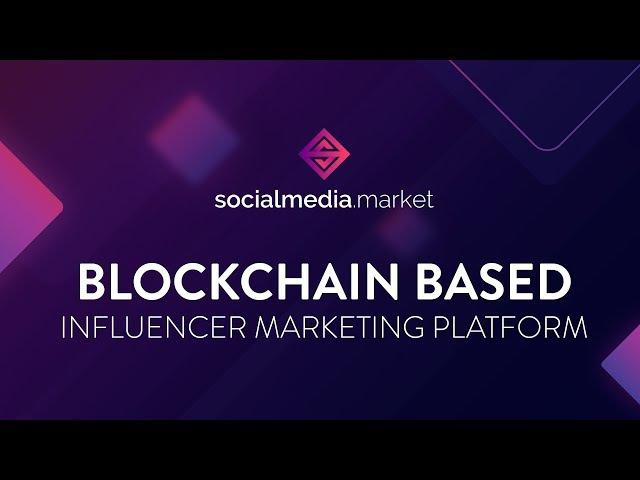 👍 Cерия Крутых ICO.🔥ICO SocialMedia Market Платформа Для Блогеров и Рекламодателей На Bloc...