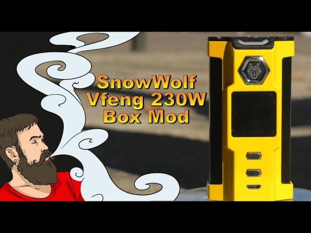 Vape обзор №201. SnowWolf Vfeng 230W Box Mod / Волк уже не тот » Freewka.com - Смотреть онлайн в хорощем качестве