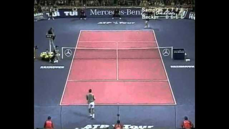 Sampras vs Becker Masters 1996 Final