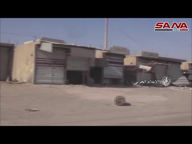 The Syrian Arab Army recovers the town of Khasham in the countryside of Deir al-Zour