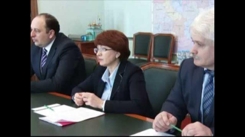 Губернатор Игорь Руденя встретился с главами Ржева, Ржевского, Бельского и Зубцовского районов .