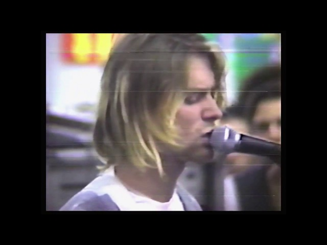 Nirvana (live concert) - September 16th, 1991, Beehive Records, Seattle, WA (angle 1)