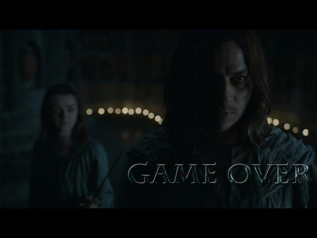 Arya Stark Jaqen H'ghar | Game Over