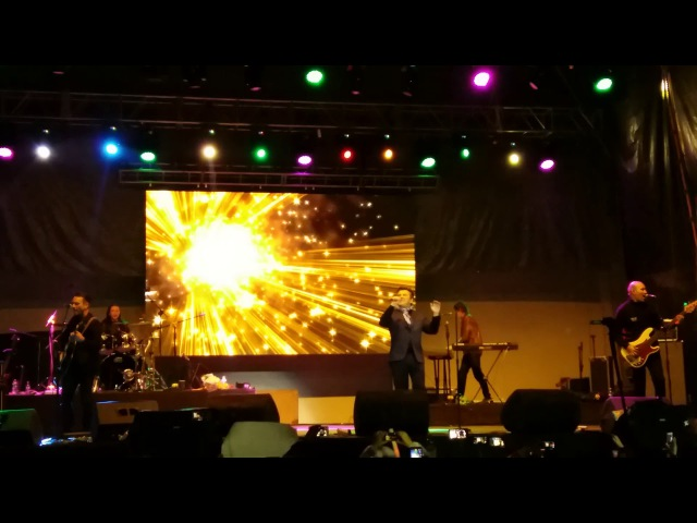 Modern talking Thomas Anders Love is in the air EN VIVO LA PAZ BOLIVIA 26 01 2018 FRV