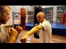 Бокс: расслабленные плечи, стойка, удар
