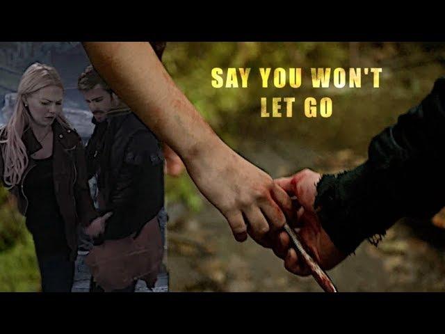 Bellarke CaptainSwan | Say You Won't Let go [HBD EM]