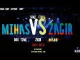 mic_sas(Mihas) odinsonbitch(Zag1r) #BbxTime #Wabbpost Semi Final Bbx Time &amp Wabb