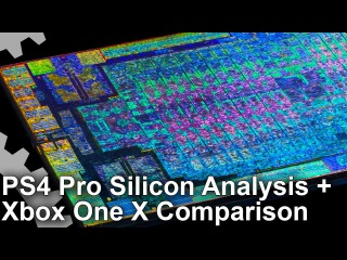 PS4 Pro vs Xbox One X Processors Compared: Silicon Layout Analysis!