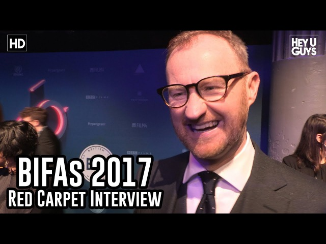Host Mark Gatiss The 2017 BIFAs Red Carpet Interview