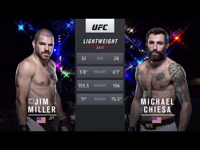 Fight Night Oklahoma City Free Fight: Michael Chiesa vs Jim Miller