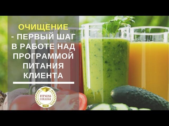 Очищение - первый шаг в работе над программой питания клиента - Светлана Королева