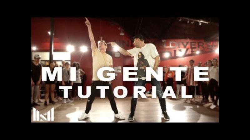 MI GENTE - J Balvin ft Willy William DANCE TUTORIAL | @MattSteffanina Choreography
