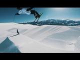 Безумное катание на лыжах в форме Криштиану Роналду от Андри Рагеттли
