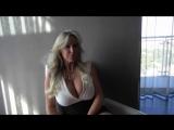 Wifey in stunning Short dress _ big boobs! The best Milf