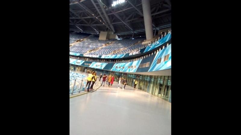 Стадион Крестовский,обзор часть 2